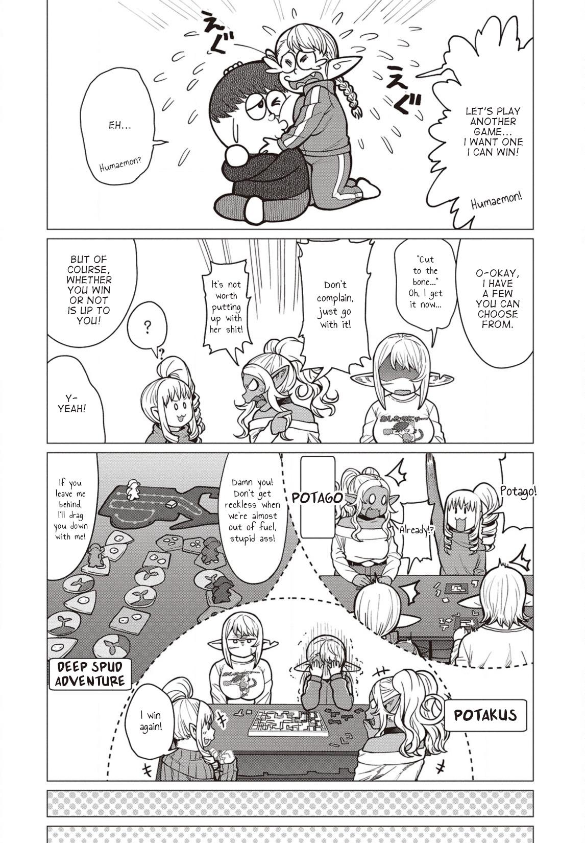 Elfsan wa Yaserarenai Chapter 36  Online Free Manga Read Image 13