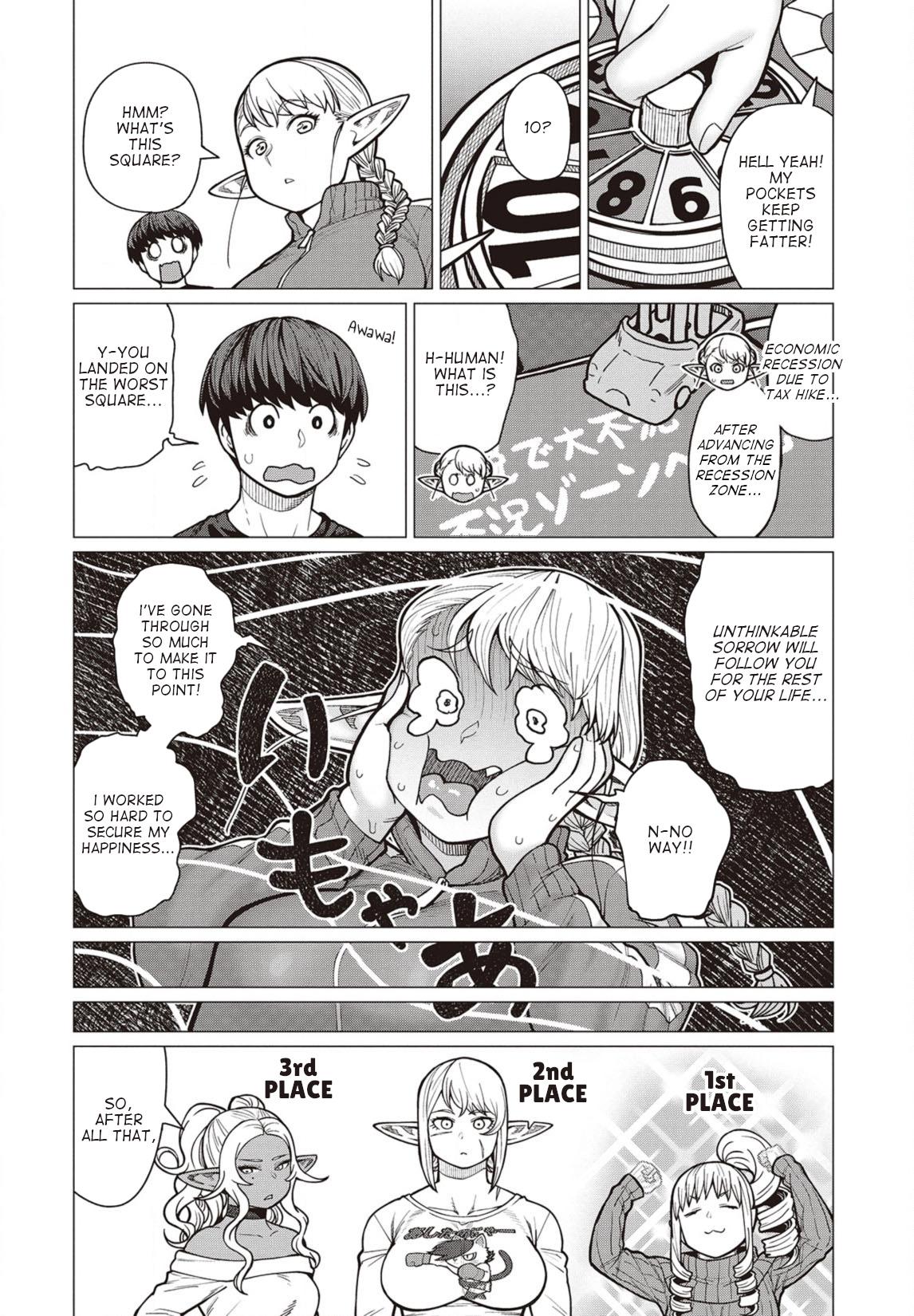 Elfsan wa Yaserarenai Chapter 36  Online Free Manga Read Image 17