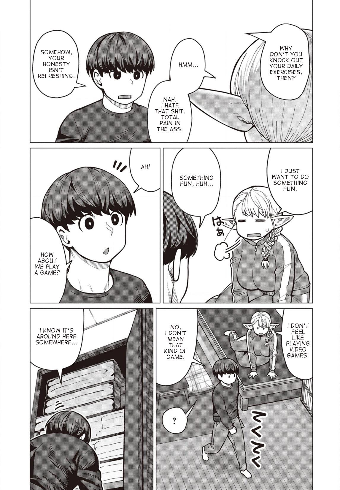 Elfsan wa Yaserarenai Chapter 36  Online Free Manga Read Image 2