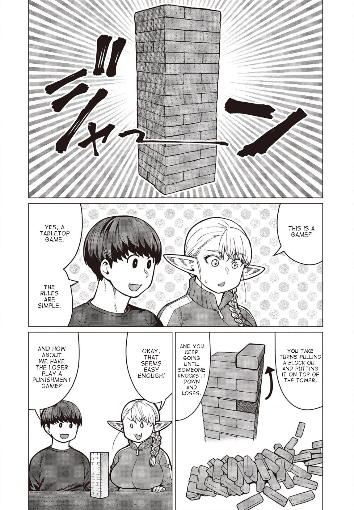 Elfsan wa Yaserarenai Chapter 36  Online Free Manga Read Image 3