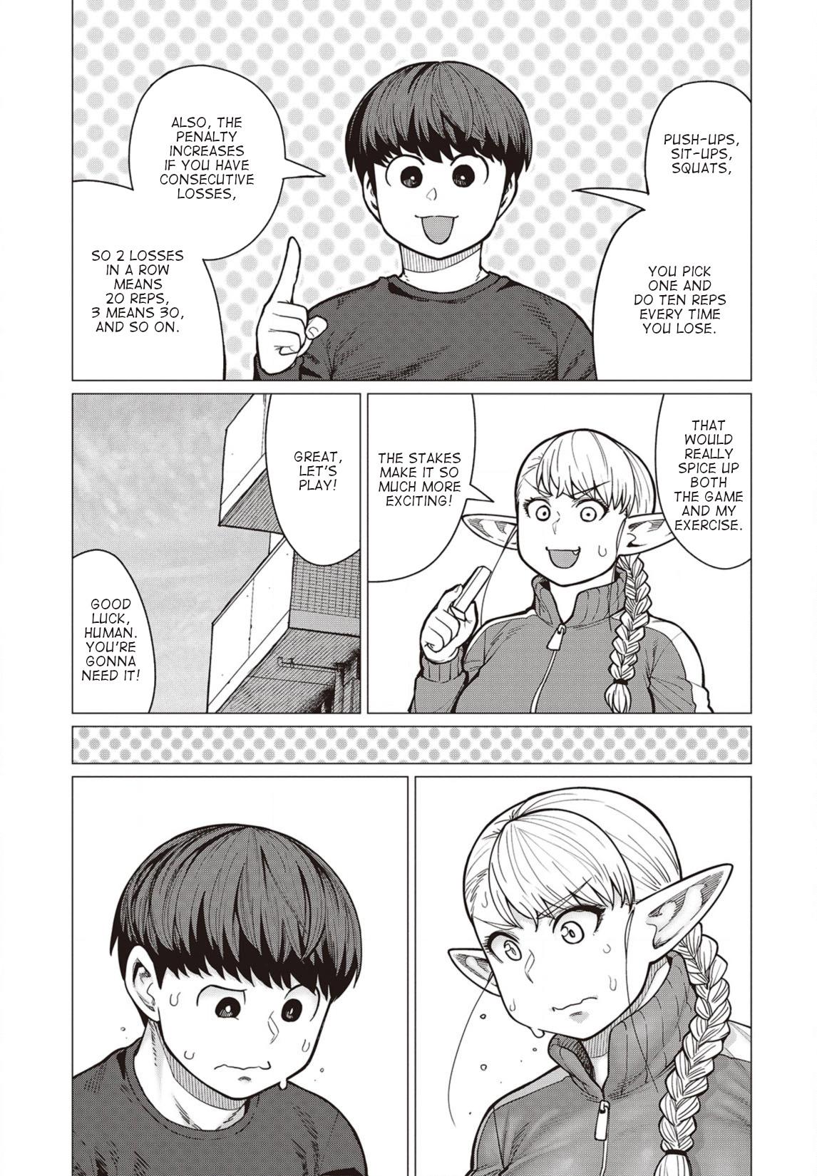 Elfsan wa Yaserarenai Chapter 36  Online Free Manga Read Image 4