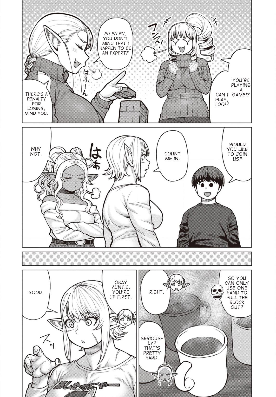 Elfsan wa Yaserarenai Chapter 36  Online Free Manga Read Image 7