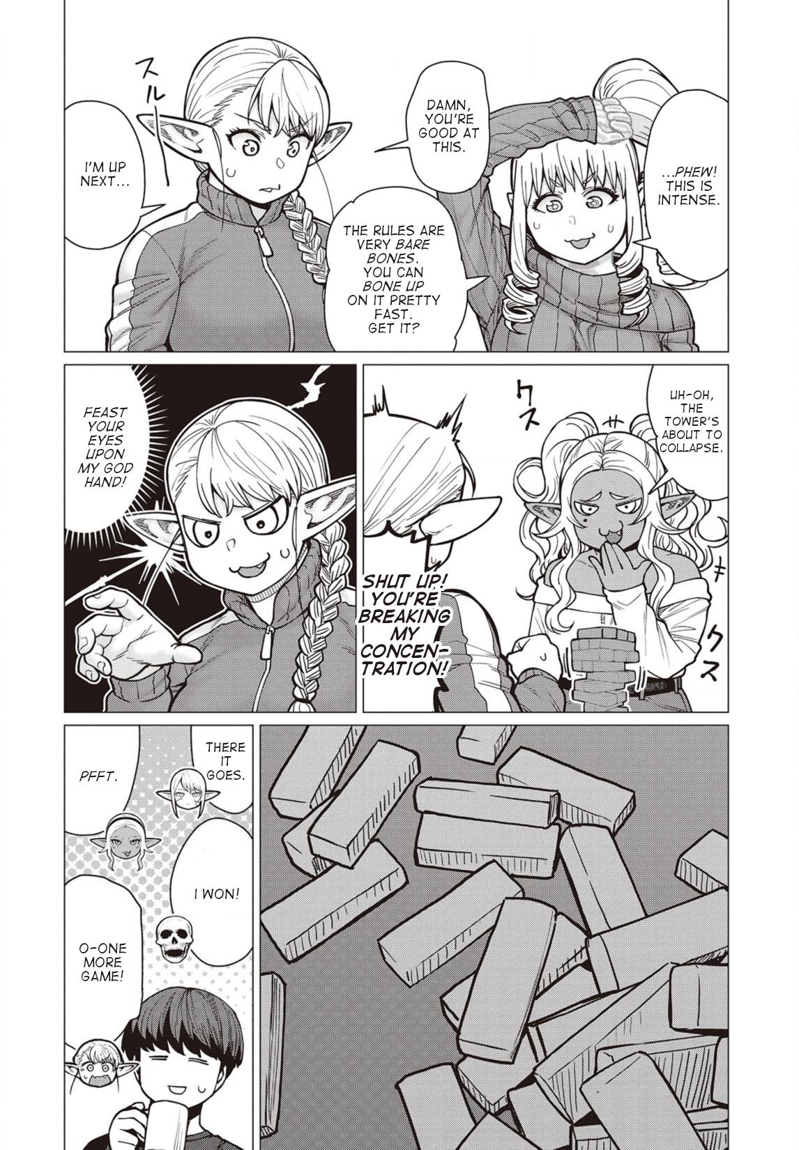 Elfsan wa Yaserarenai Chapter 36  Online Free Manga Read Image 9