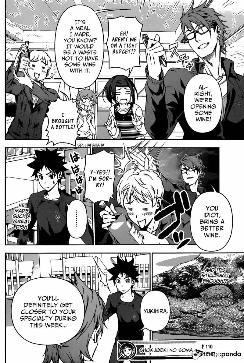 Shokugeki no Soma Chapter 110  Online Free Manga Read Image 19
