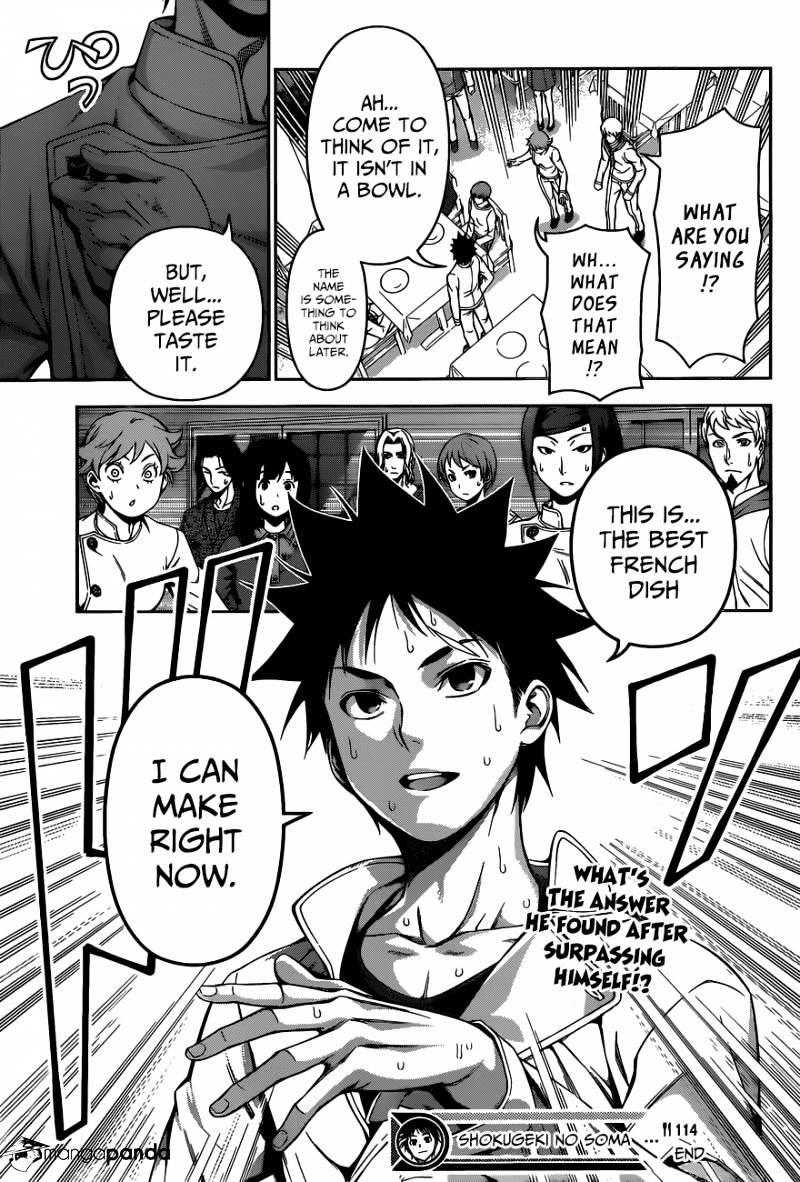 Shokugeki no Soma Chapter 114  Online Free Manga Read Image 17