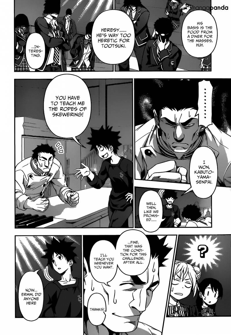 Shokugeki no Soma Chapter 117  Online Free Manga Read Image 9