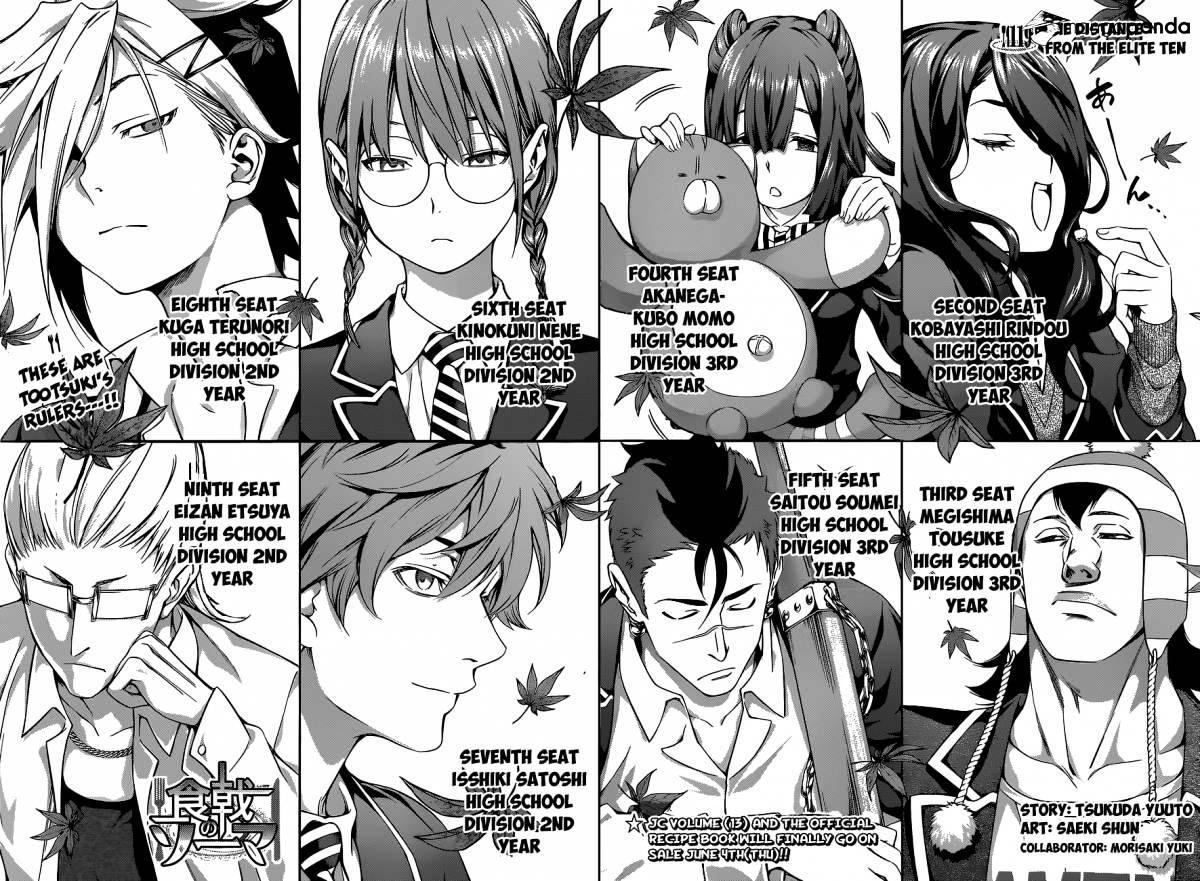 Shokugeki no Soma Chapter 119  Online Free Manga Read Image 3