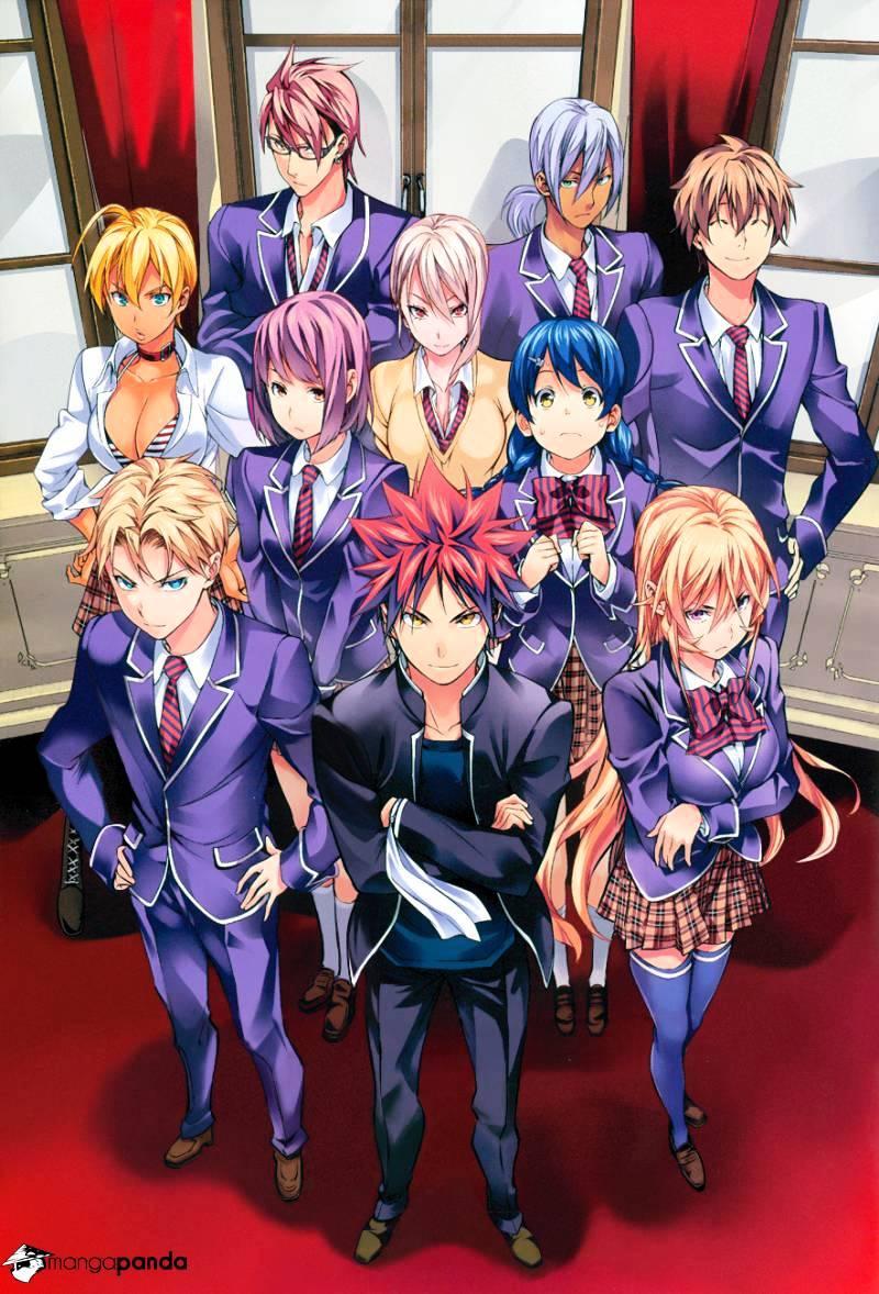 Shokugeki no Soma Chapter 121  Online Free Manga Read Image 3