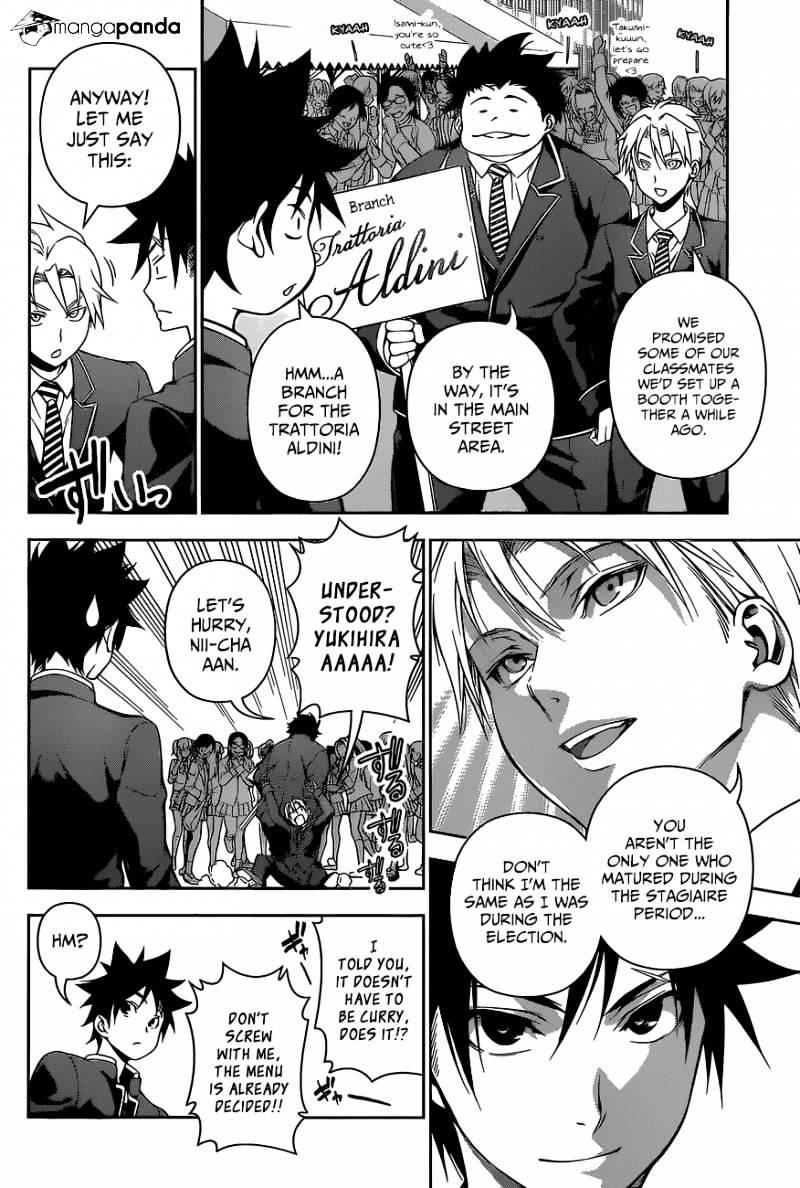 Shokugeki no Soma Chapter 124  Online Free Manga Read Image 6