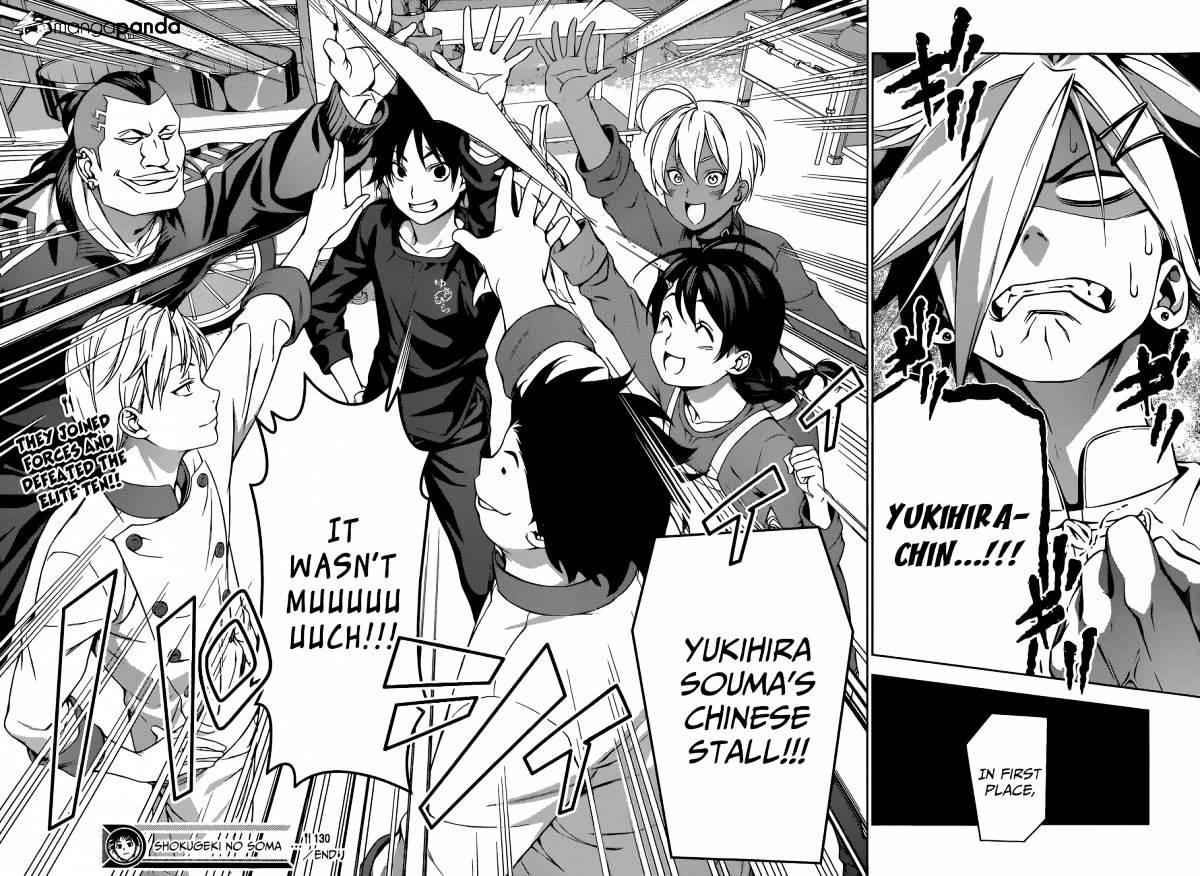 Shokugeki no Soma Chapter 130  Online Free Manga Read Image 18