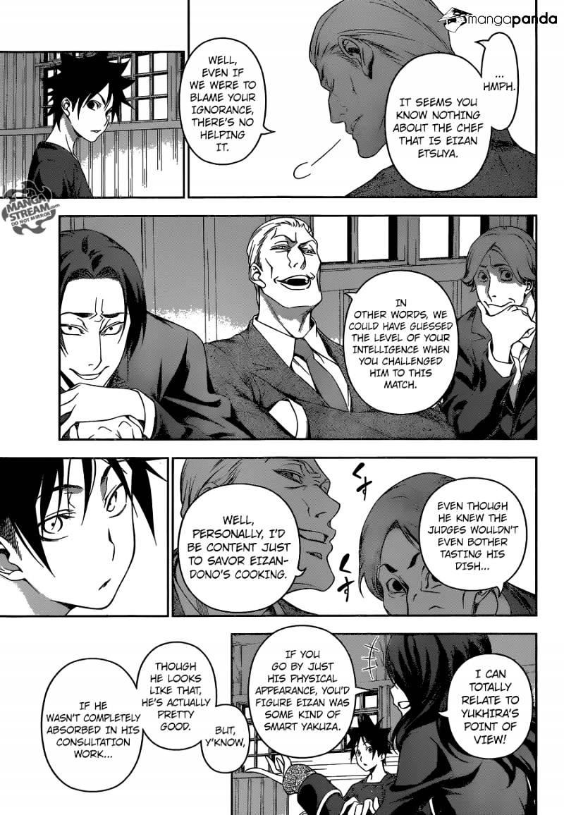 Shokugeki no Soma Chapter 144  Online Free Manga Read Image 11