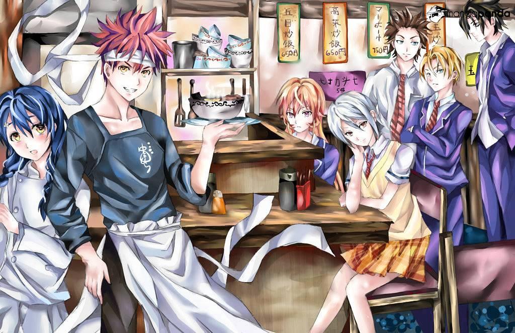 Shokugeki no Soma Chapter 144  Online Free Manga Read Image 22