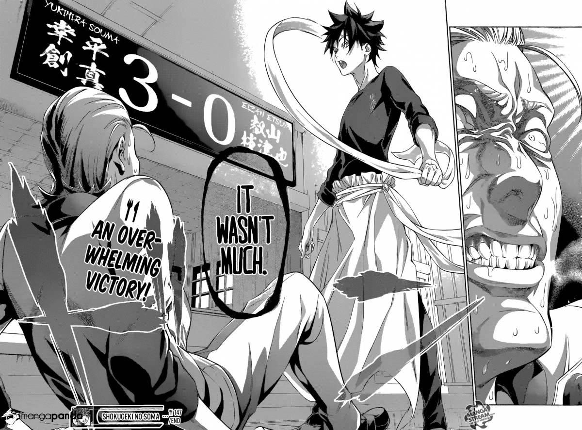 Shokugeki no Soma Chapter 147  Online Free Manga Read Image 23