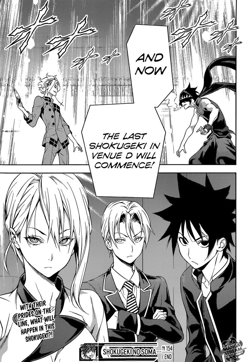 Shokugeki no Soma Chapter 154  Online Free Manga Read Image 20
