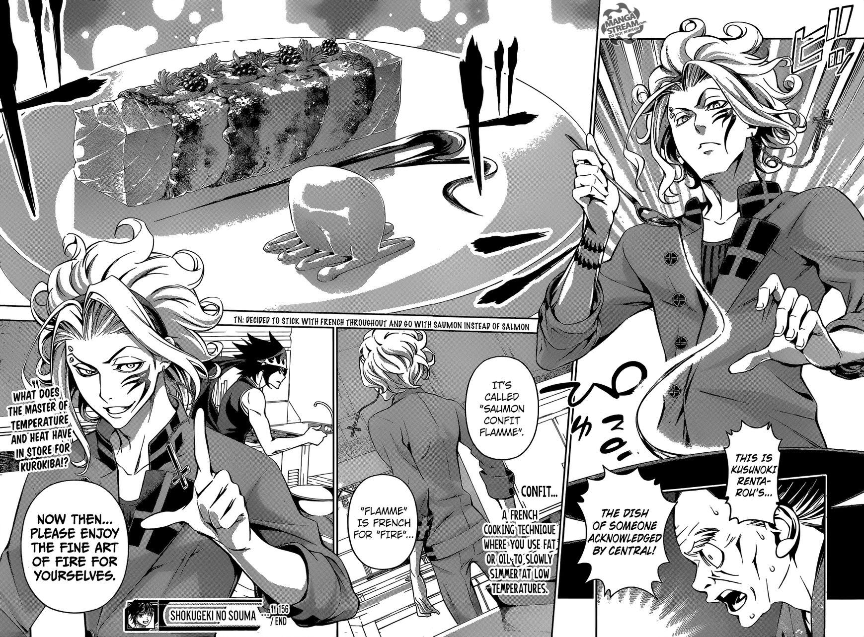 Shokugeki no Soma Chapter 156  Online Free Manga Read Image 19
