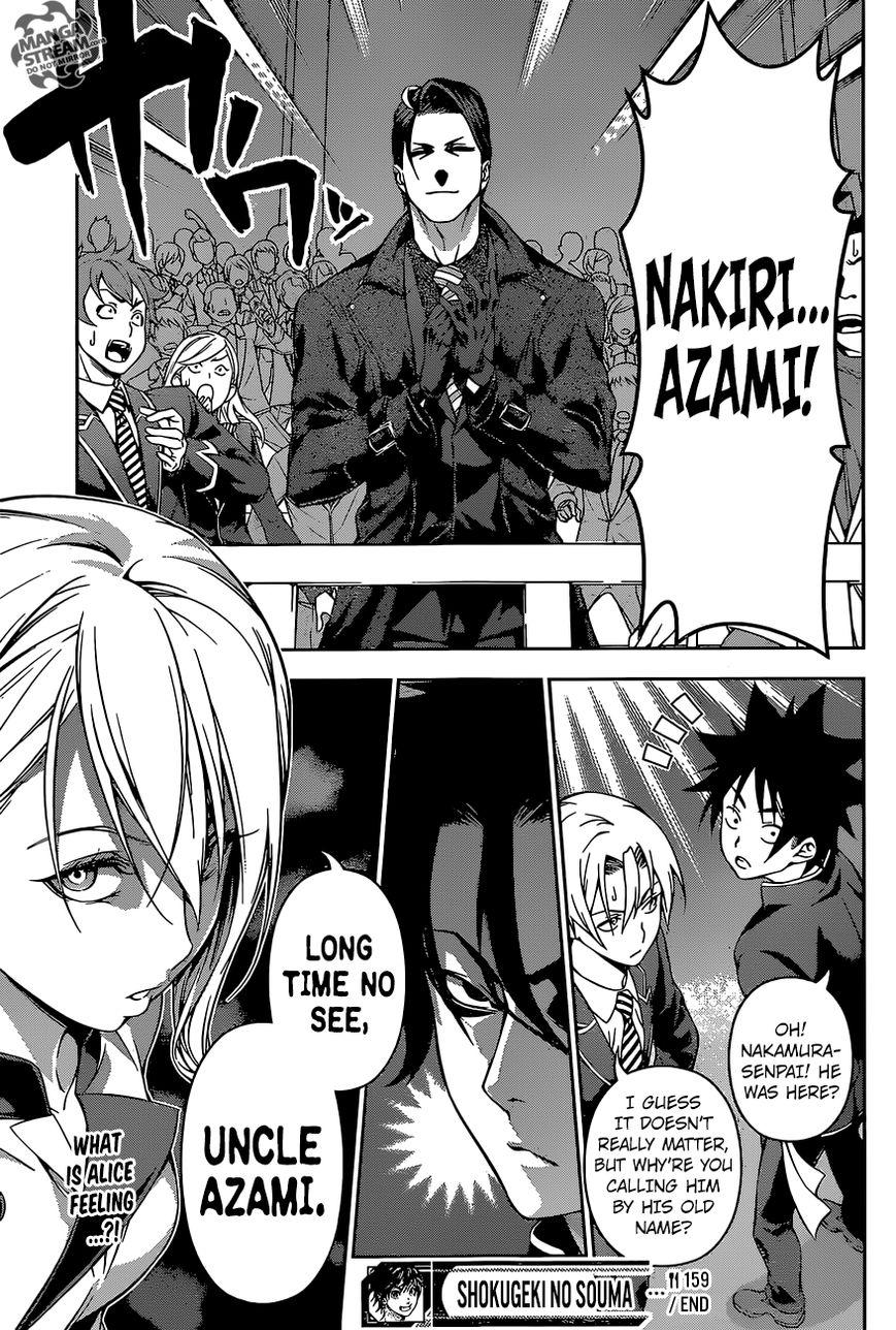 Shokugeki no Soma Chapter 159  Online Free Manga Read Image 22