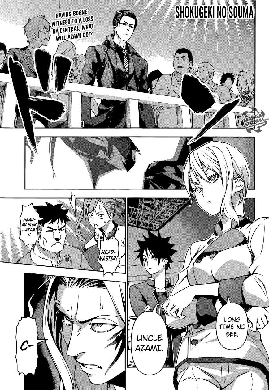 Shokugeki no Soma Chapter 160  Online Free Manga Read Image 1