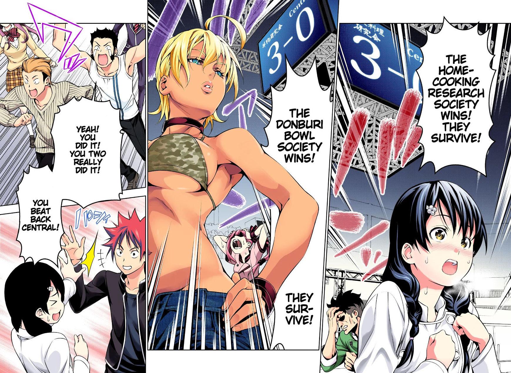 Shokugeki no Soma Chapter 166.1  Online Free Manga Read Image 15