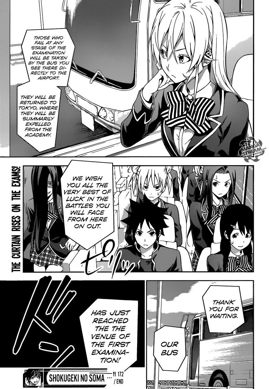 Shokugeki no Soma Chapter 172  Online Free Manga Read Image 23