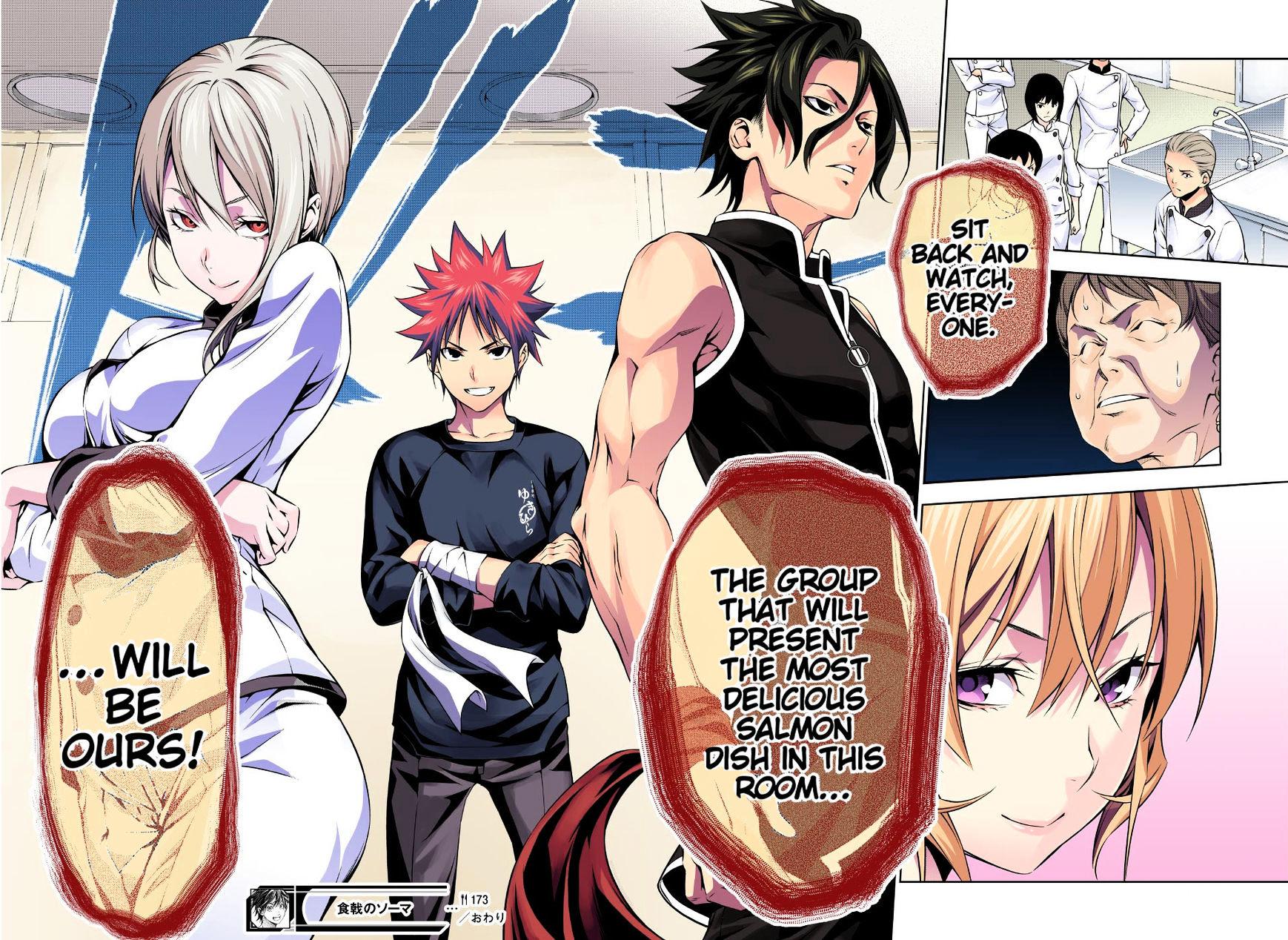 Shokugeki no Soma Chapter 173.1  Online Free Manga Read Image 20