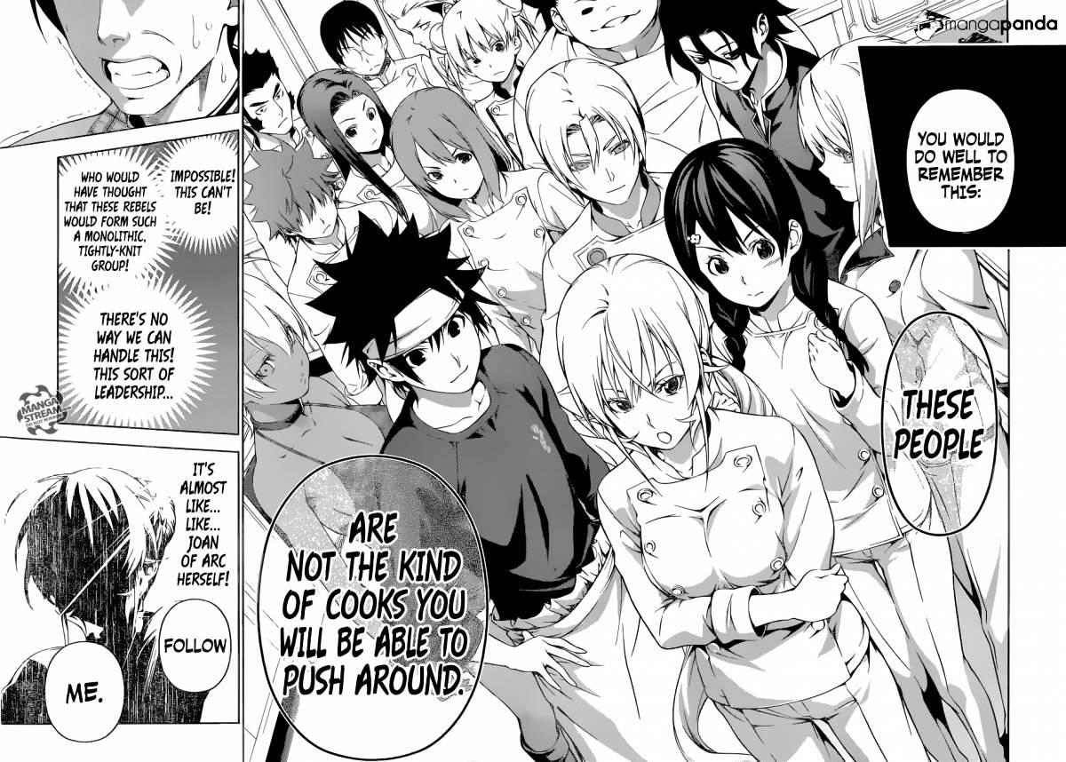 Shokugeki no Soma Chapter 177  Online Free Manga Read Image 17
