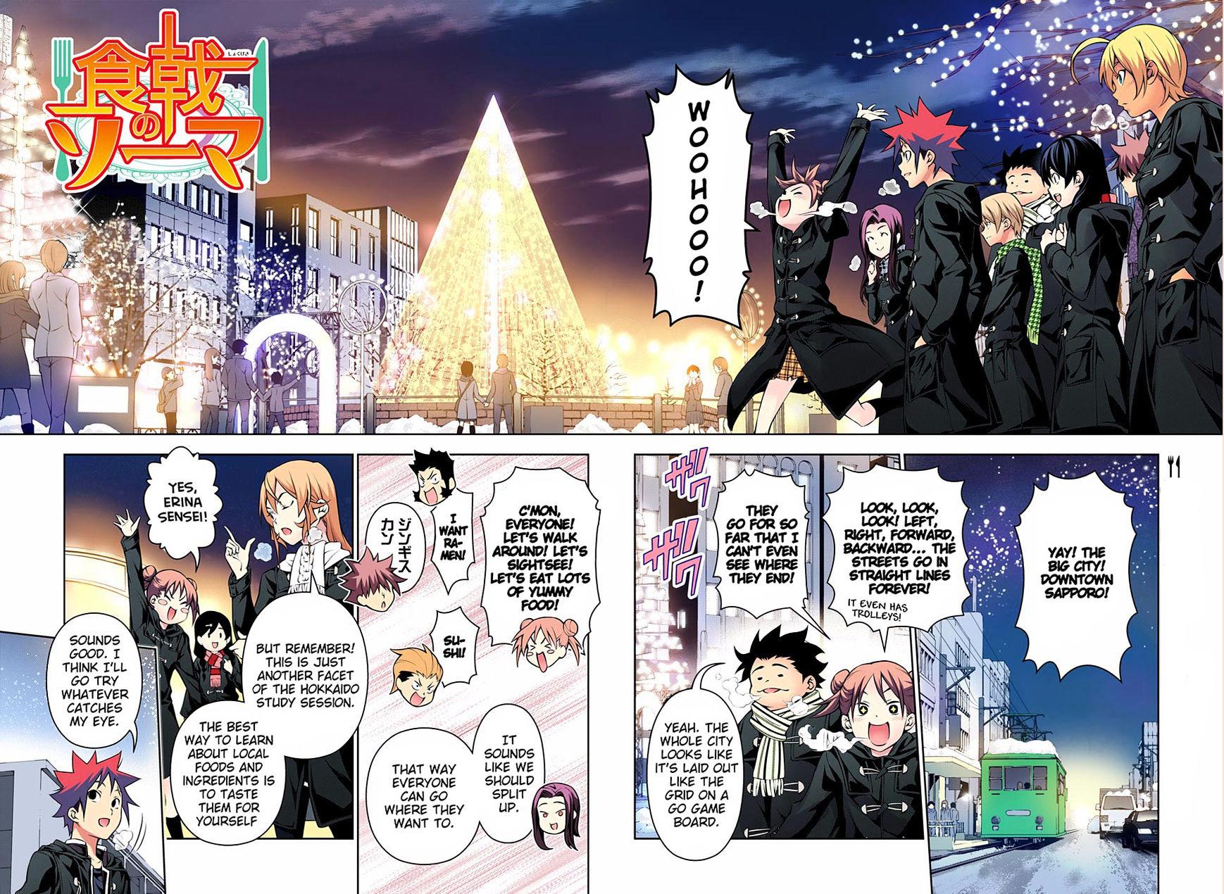 Shokugeki no Soma Chapter 178.1  Online Free Manga Read Image 3