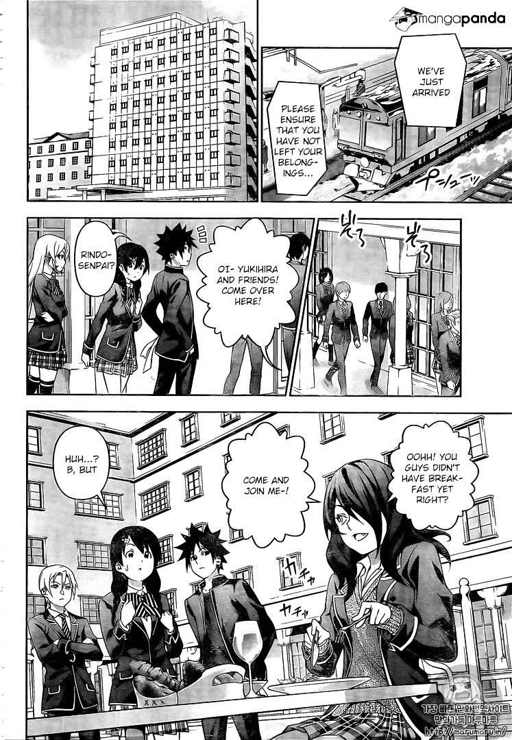 Shokugeki no Soma Chapter 179  Online Free Manga Read Image 9