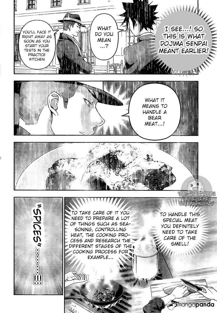 Shokugeki no Soma Chapter 180  Online Free Manga Read Image 14