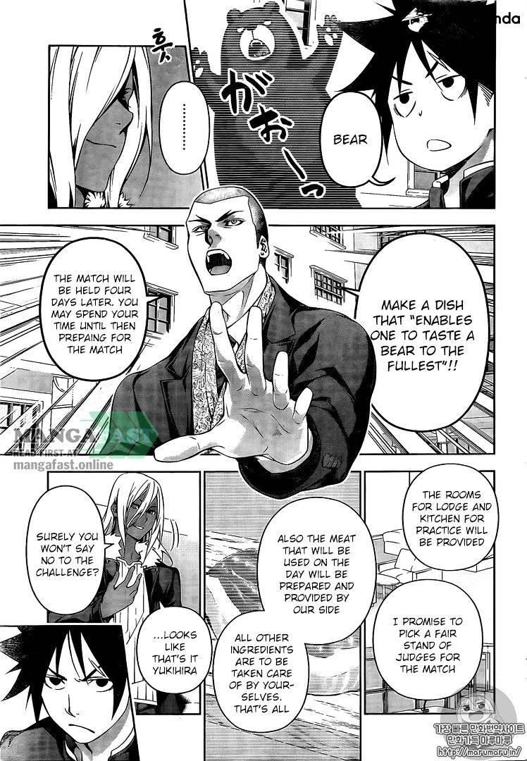 Shokugeki no Soma Chapter 180  Online Free Manga Read Image 7