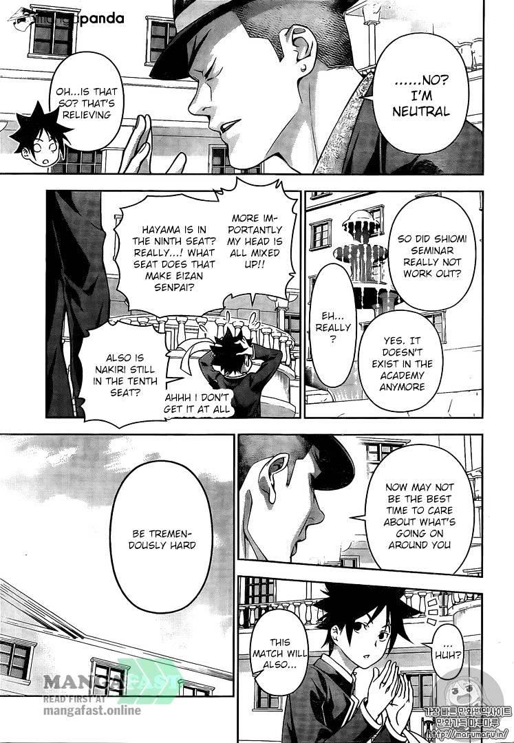 Shokugeki no Soma Chapter 180  Online Free Manga Read Image 9