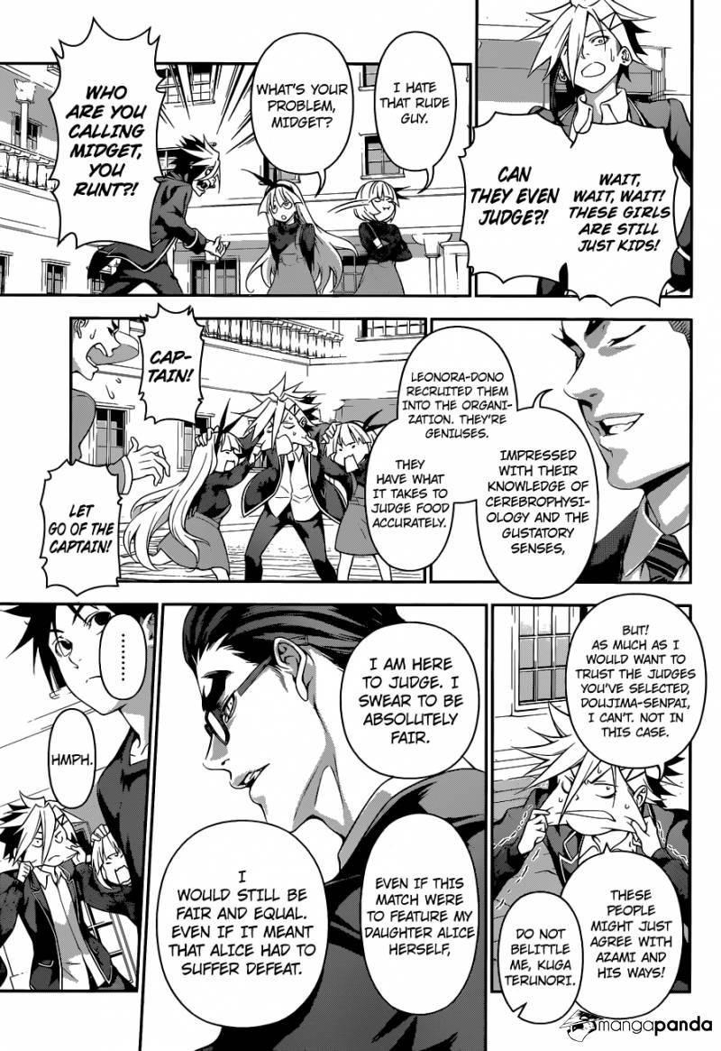 Shokugeki no Soma Chapter 185  Online Free Manga Read Image 9
