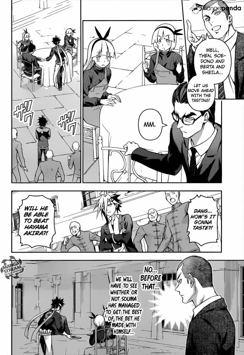 Shokugeki no Soma Chapter 187  Online Free Manga Read Image 5