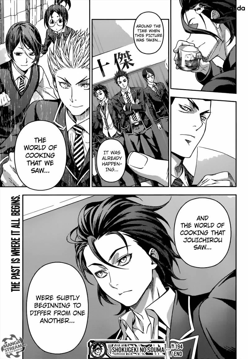 Shokugeki no Soma Chapter 194  Online Free Manga Read Image 19