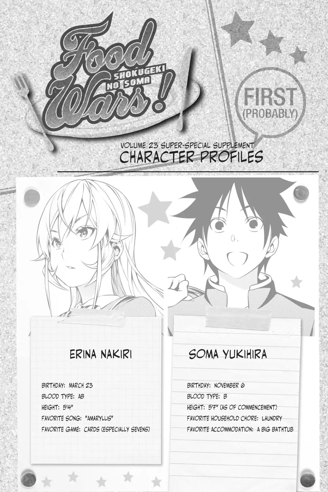 Shokugeki no Soma Chapter 199.1  Online Free Manga Read Image 9
