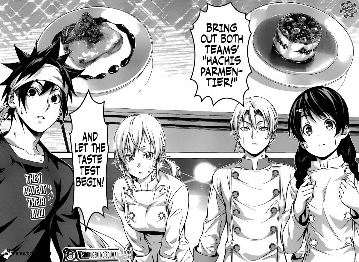 Shokugeki no Soma Chapter 202  Online Free Manga Read Image 18