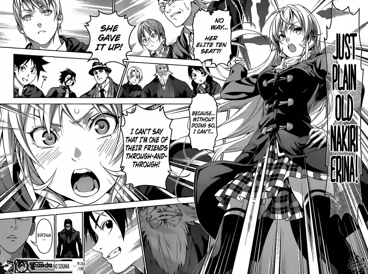 Shokugeki no Soma Chapter 204  Online Free Manga Read Image 19