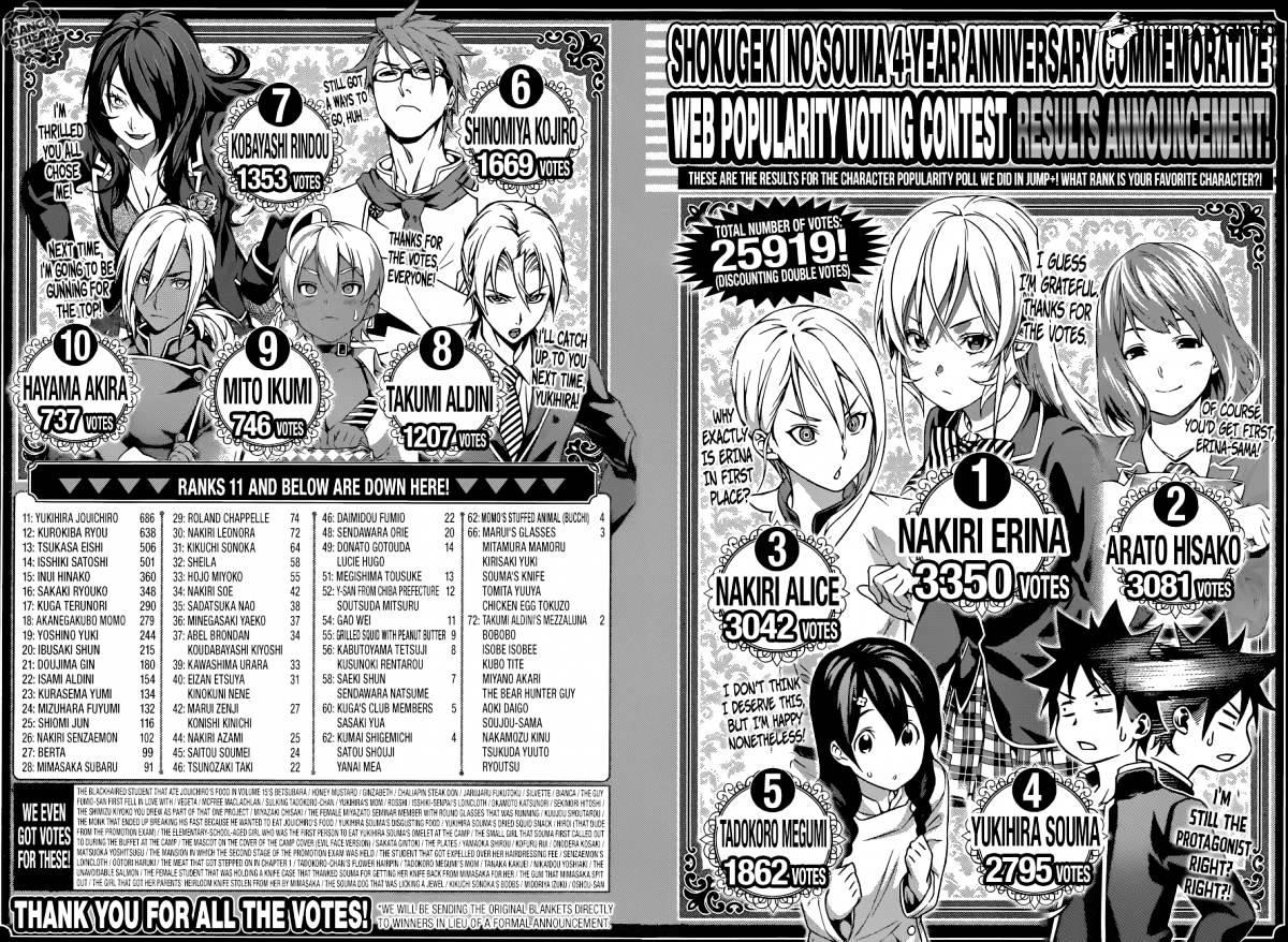 Shokugeki no Soma Chapter 204  Online Free Manga Read Image 20