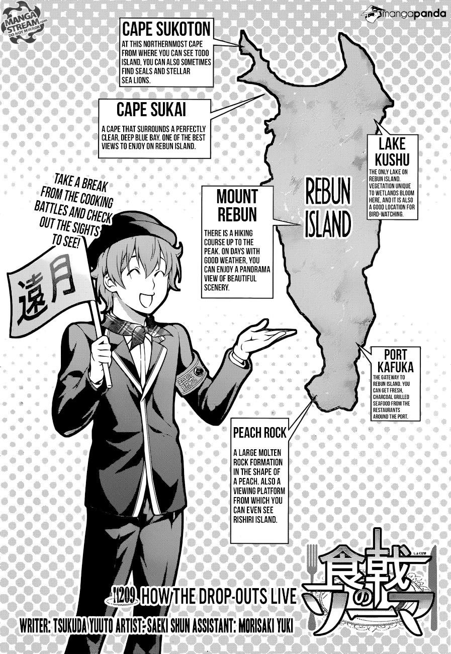 Shokugeki no Soma Chapter 209  Online Free Manga Read Image 6
