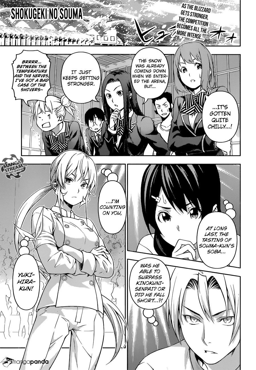 Shokugeki no Soma Chapter 213  Online Free Manga Read Image 1