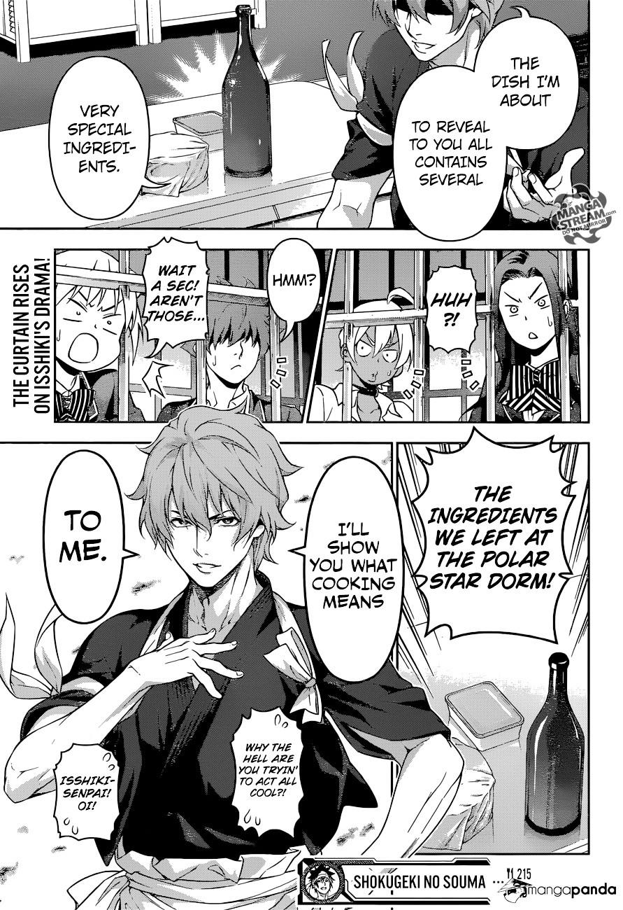 Shokugeki no Soma Chapter 215  Online Free Manga Read Image 18