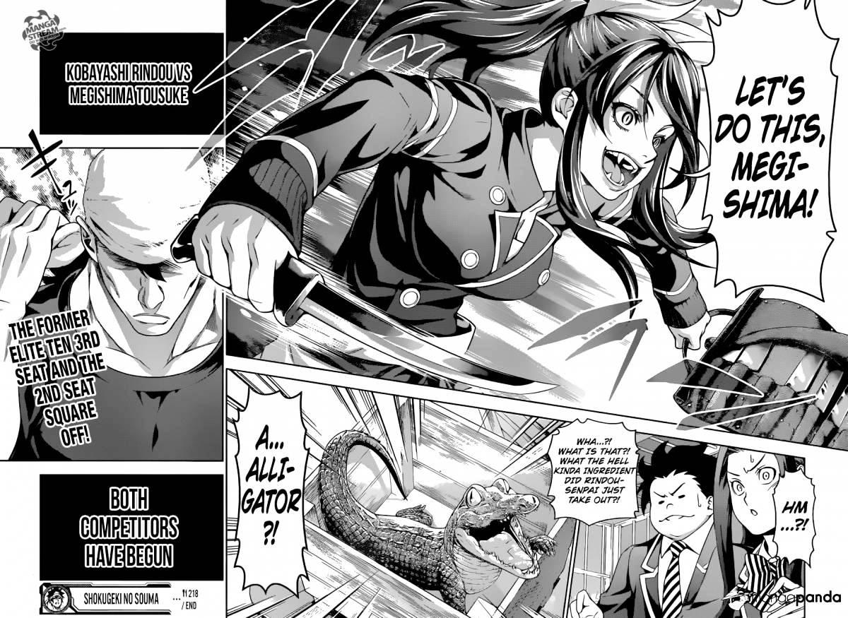 Shokugeki no Soma Chapter 219  Online Free Manga Read Image 19