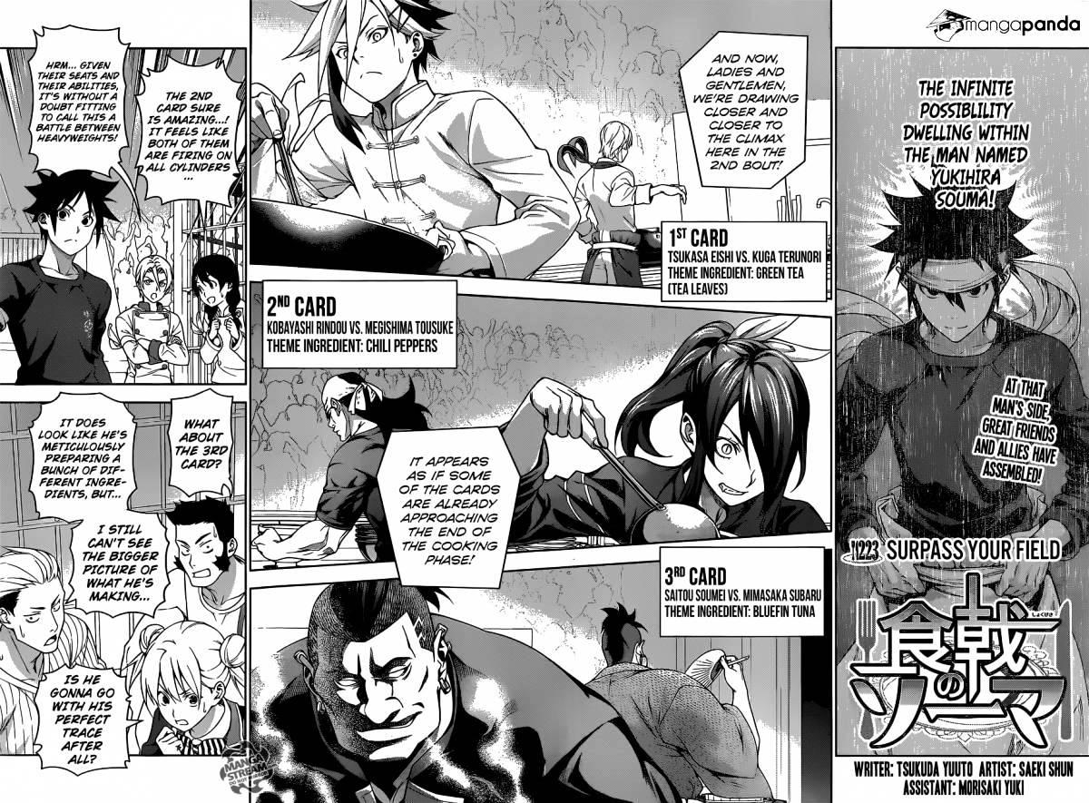 Shokugeki no Soma Chapter 223  Online Free Manga Read Image 2