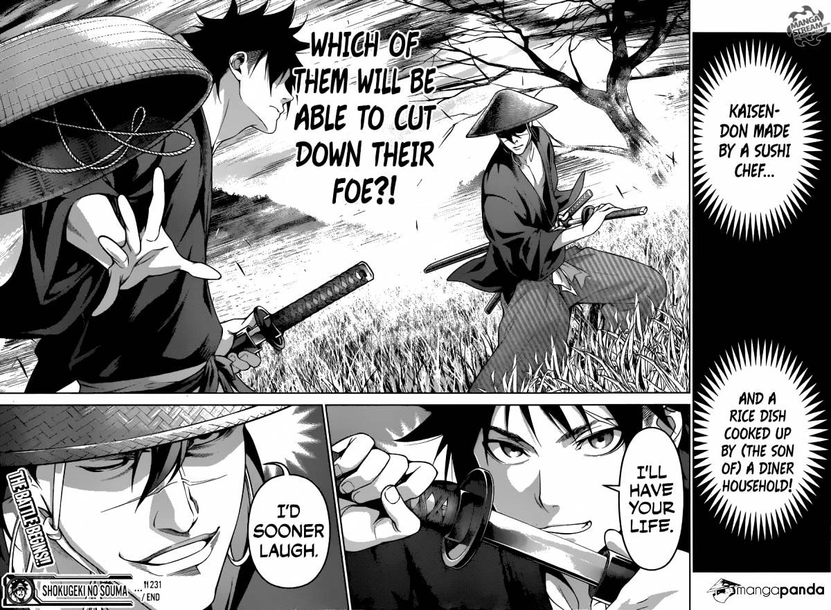 Shokugeki no Soma Chapter 231  Online Free Manga Read Image 19