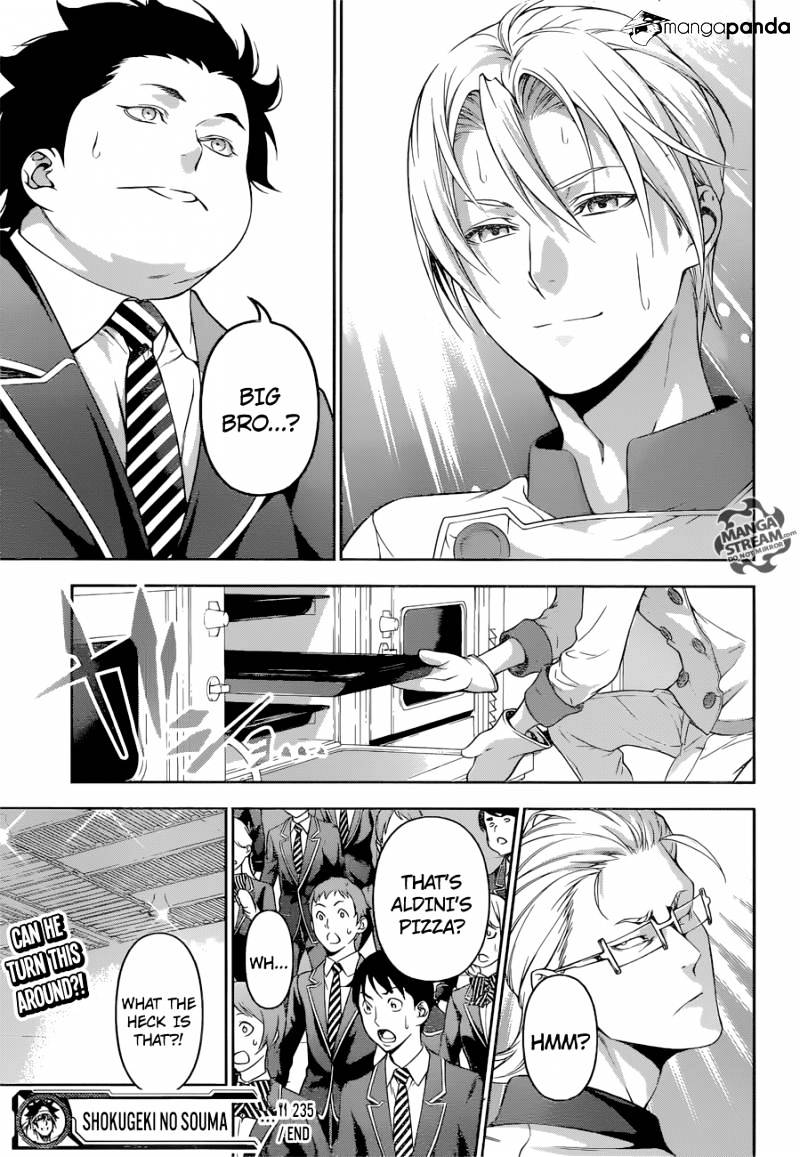 Shokugeki no Soma Chapter 235  Online Free Manga Read Image 19