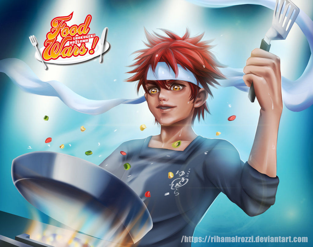 Shokugeki no Soma Chapter 238  Online Free Manga Read Image 3