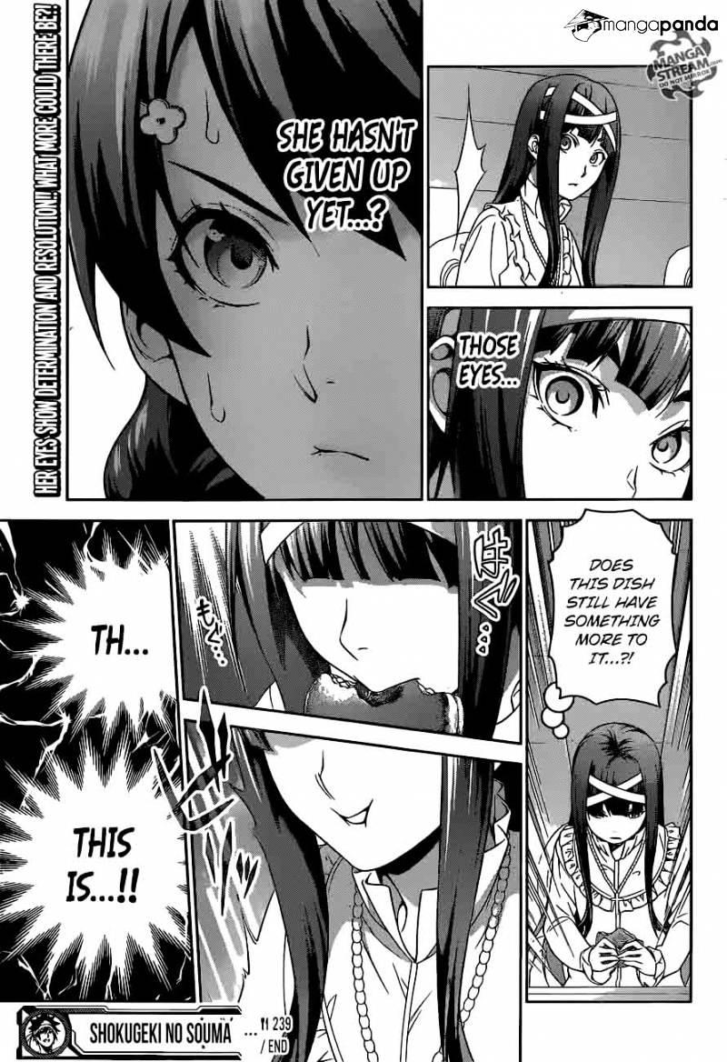 Shokugeki no Soma Chapter 239  Online Free Manga Read Image 18