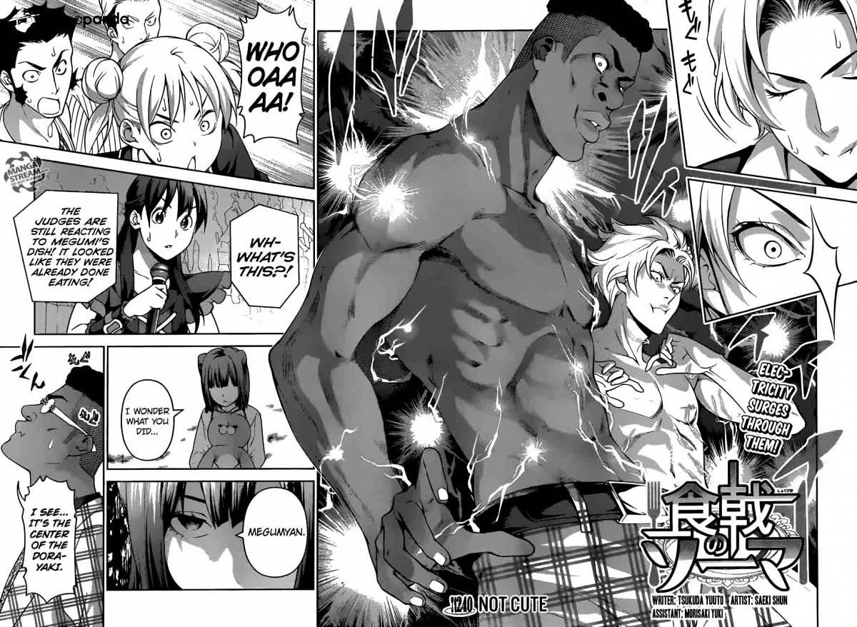 Shokugeki no Soma Chapter 240  Online Free Manga Read Image 2
