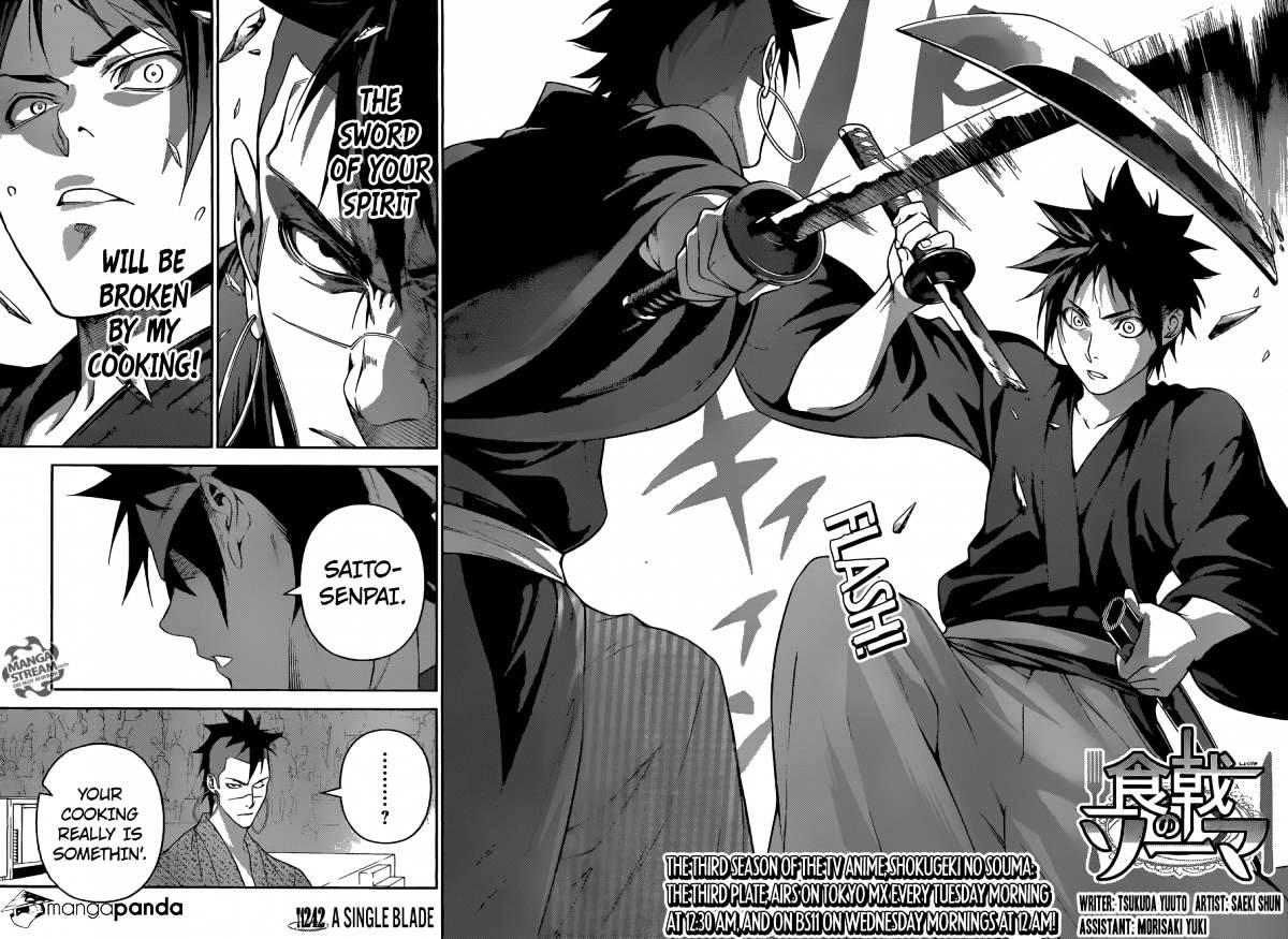 Shokugeki no Soma Chapter 242  Online Free Manga Read Image 2