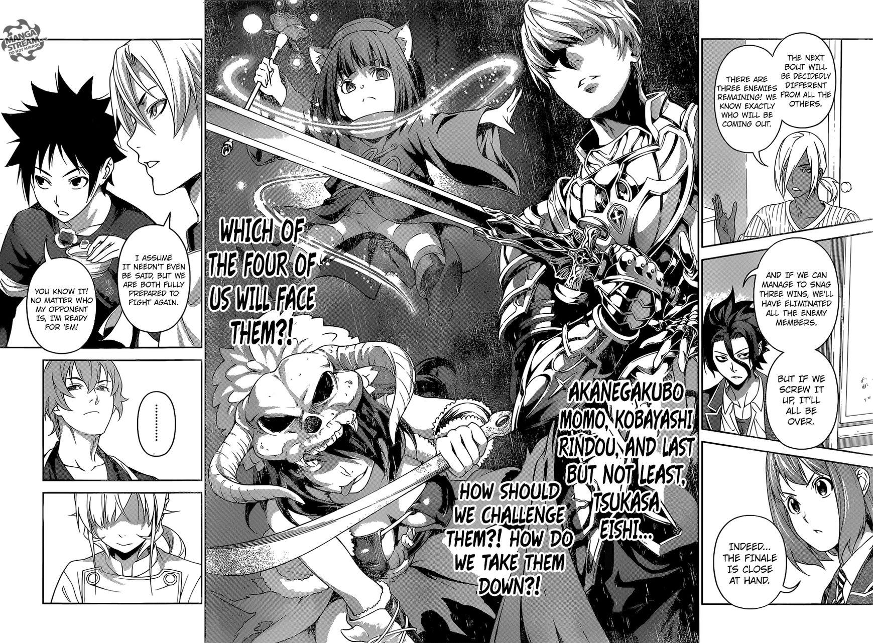 Shokugeki no Soma Chapter 244  Online Free Manga Read Image 10