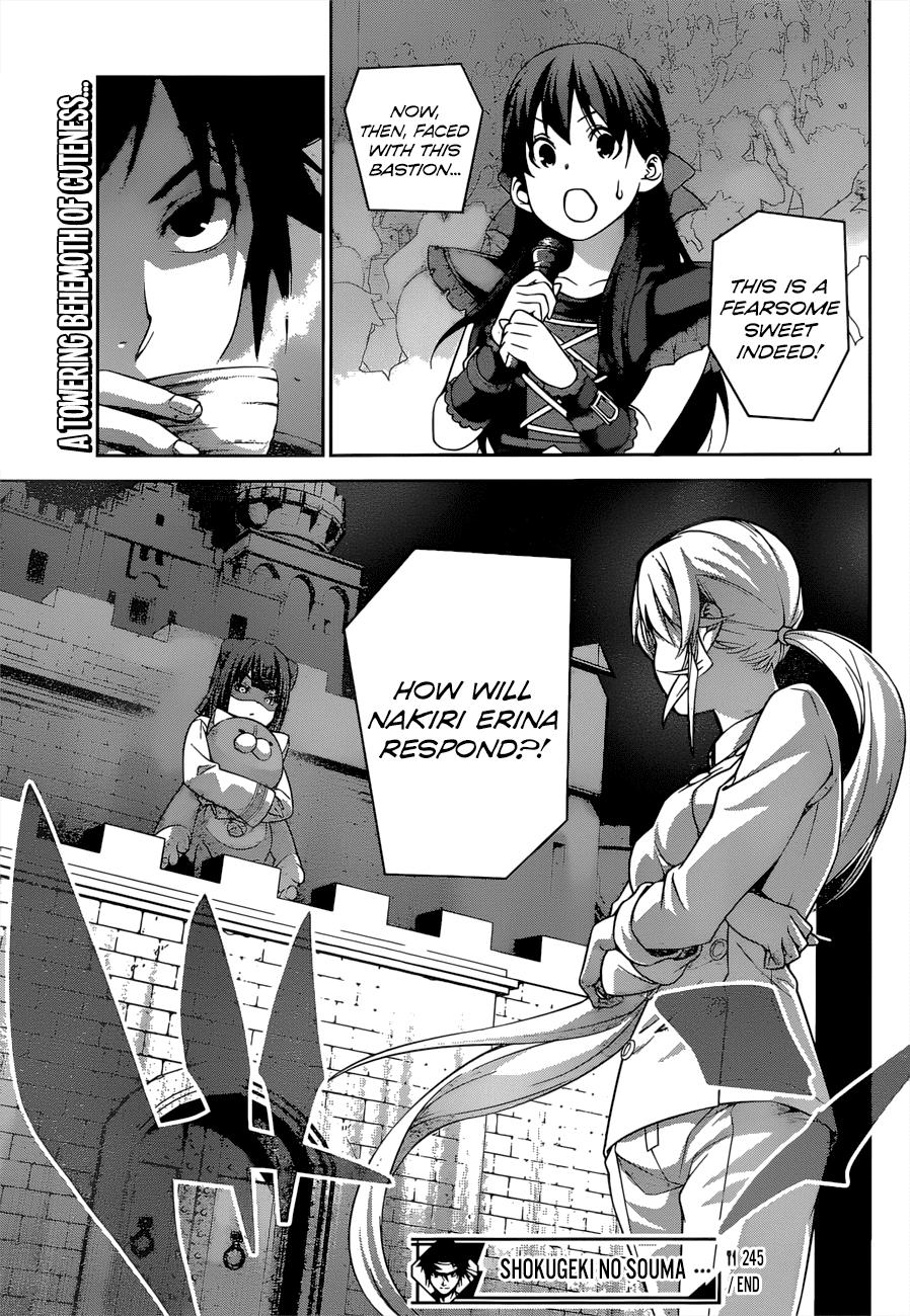 Shokugeki no Soma Chapter 245  Online Free Manga Read Image 19